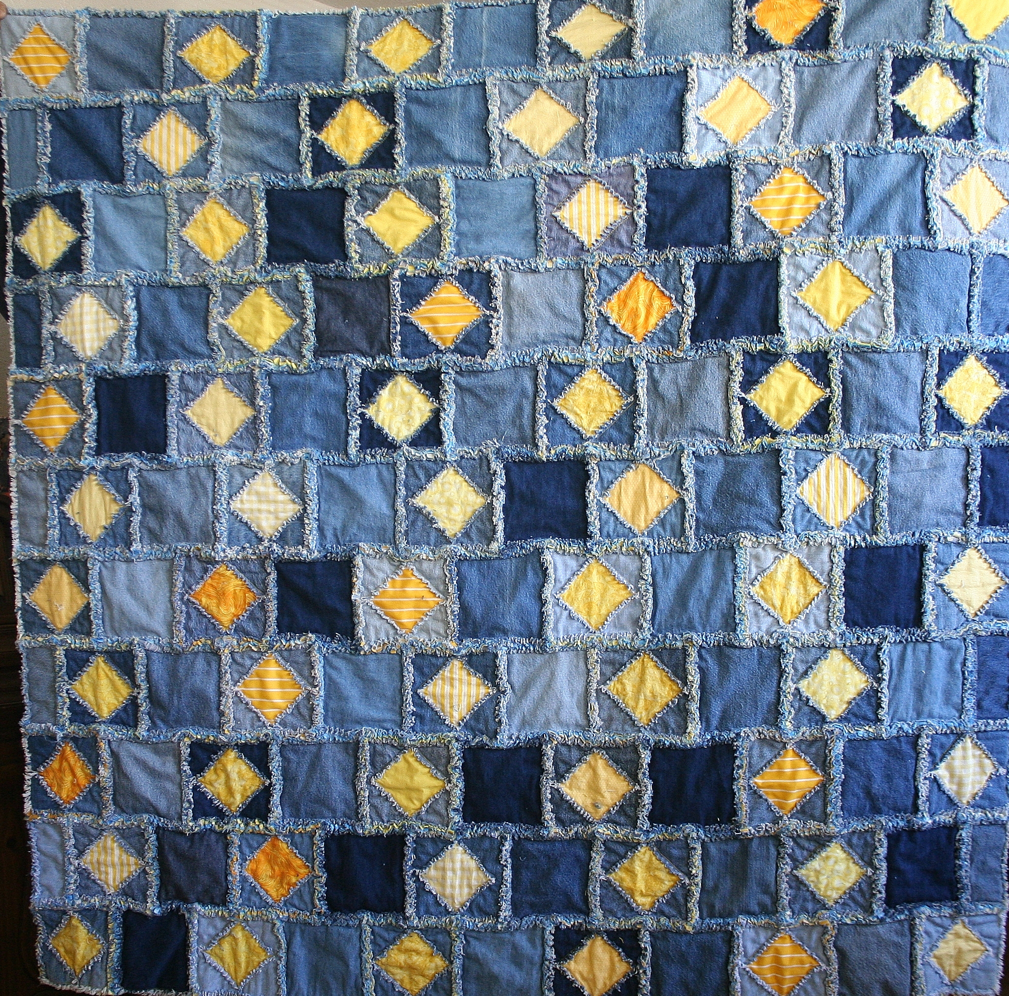my mom kryson in pin collection gave kreations quilts more glass stained s quilt this beautiful amazing denim