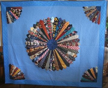 Tie Quilt (front)