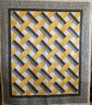 Baby Lattice Gray/Yellow (front)