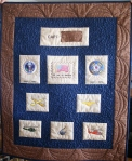 Military Retirement Quilt (front)