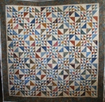 Earth Tone Batik Wedding Quilt
