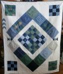 Memory Pocket Quilt (front)