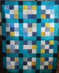 High Seas Wedding Quilt (front)