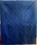 Square Spiral T Shirt Quilt (back)