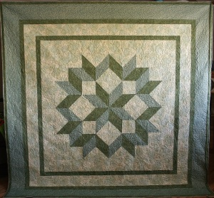 Green Carpenter's Star