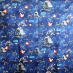 Star Wars Youth Quilt (back)