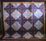 Purple Batik Butterfly Garden