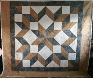 Earthtone Carpenter's Star