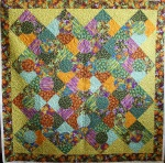 Circle Dragonfly Quilt
