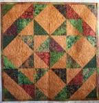 Autumn Batik Quilt