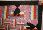 Rooster Quilt (close up)