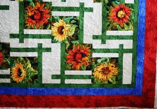 Sunflower Lattice (close up)