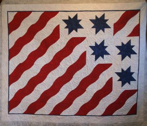 Fourth of July Stars and Stripes (front)