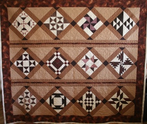 Chocolate Quilt (front)