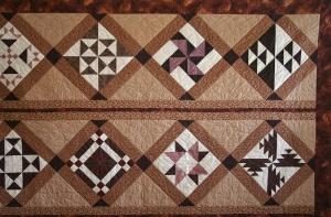 Chocolate Quilt (close up)