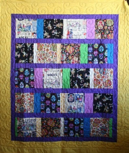 Day of the Dead Quilt (front)