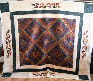 Star Autumn Quilt (front)