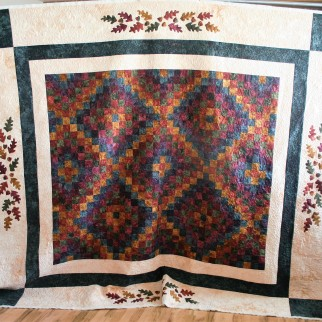 Star Autumn Quilt (front)