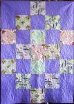Lavender Hearts & Swirls