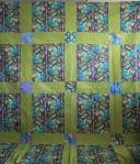 Reversible Garden Quilt (back)