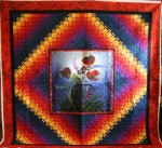 Blooming Panel Quilt