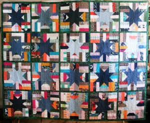Phala Memory Quilt Green (front)