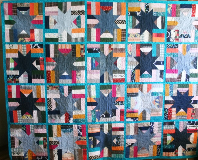 Phala Memory Quilt Turquoise (front)