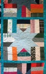 Phala Memory Quilt Turquoise (close up)