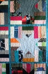 Phala Memory Quilt Teal (close up)