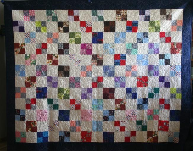 Antique #4 Four Patch (front)
