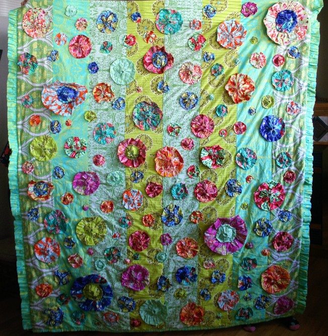 Amy Butler Bloom Quilt (front)