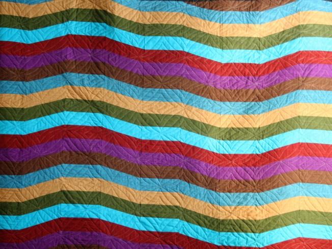 Stripes with a Zag