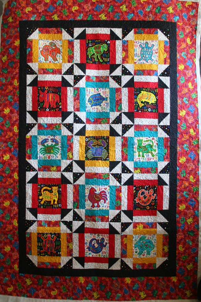 Mola Quilt (front)