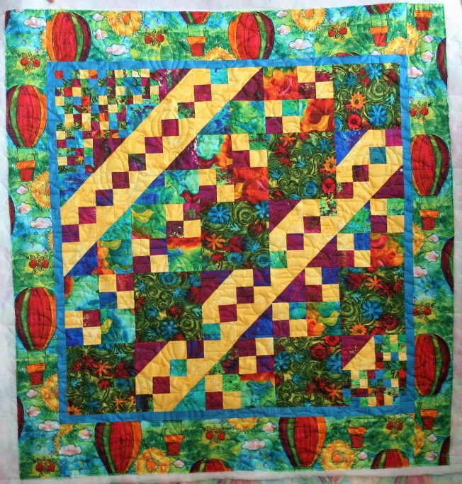 Balloon Quilt (front)