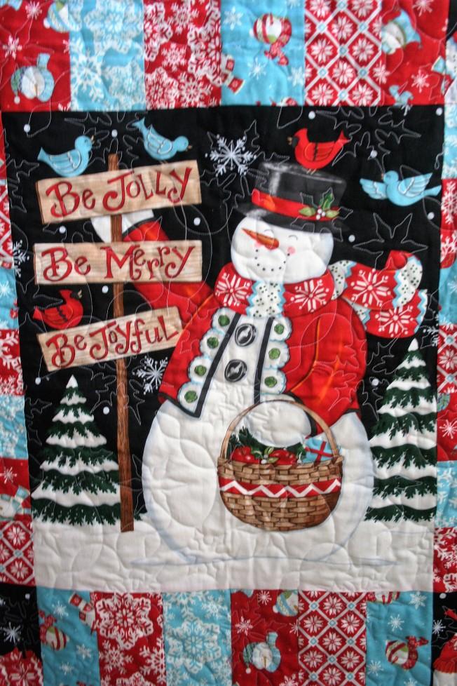 Christmas Snowmen (close up)