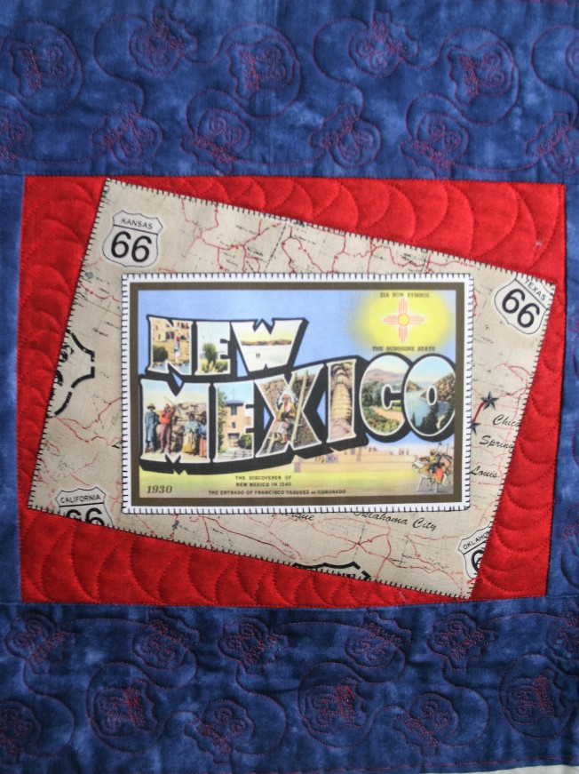Route 66 Wall Hanging (close up)