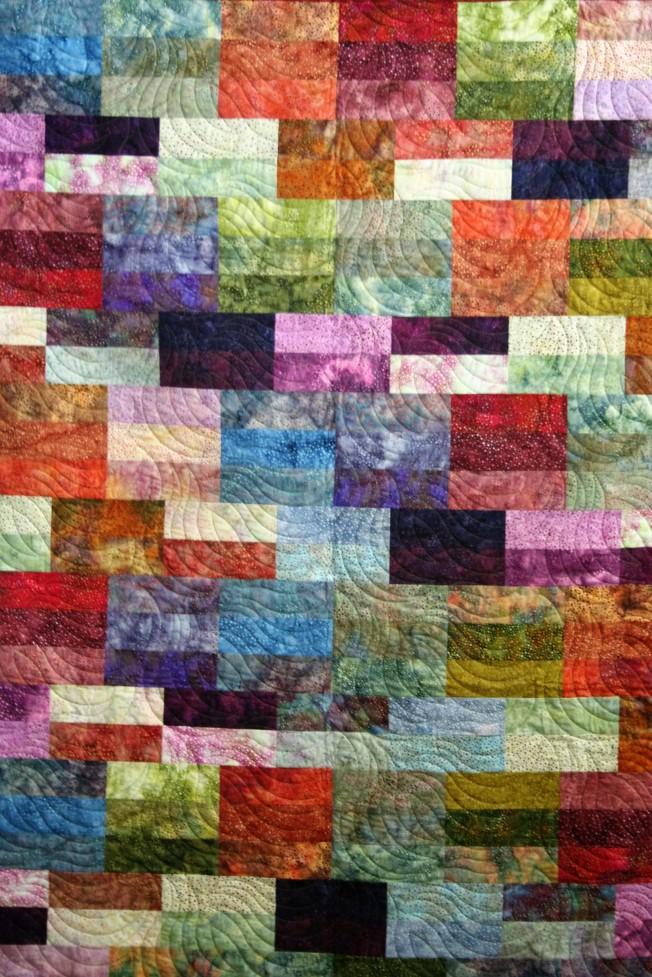 Spotted Bricks (close up)