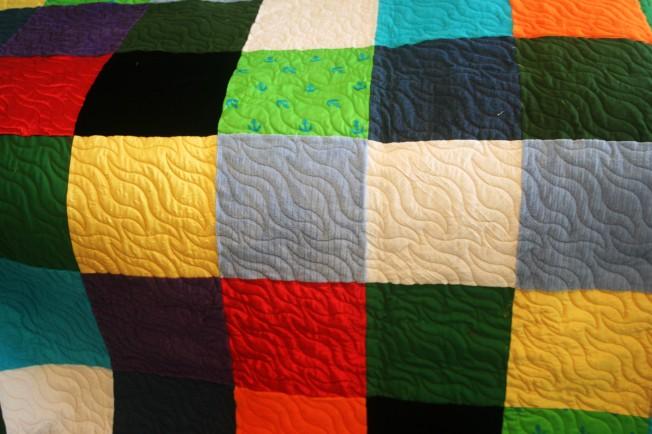 Tactile Quilt (front)