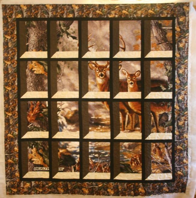 Deer Through the Window (front)