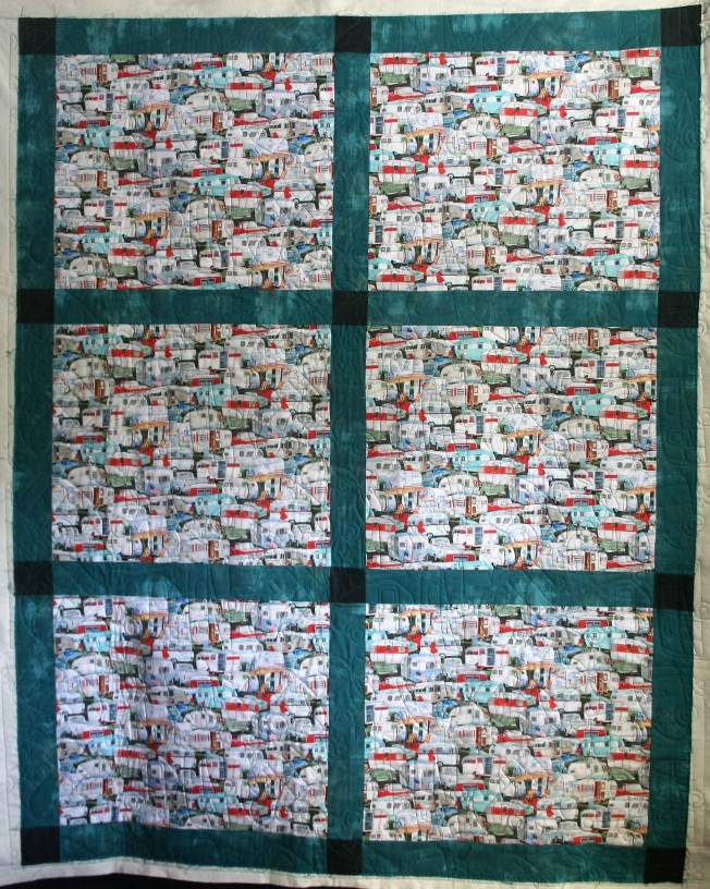 Camping Quilt (front)