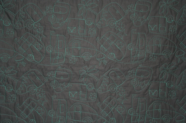 Camping Quilt (back)