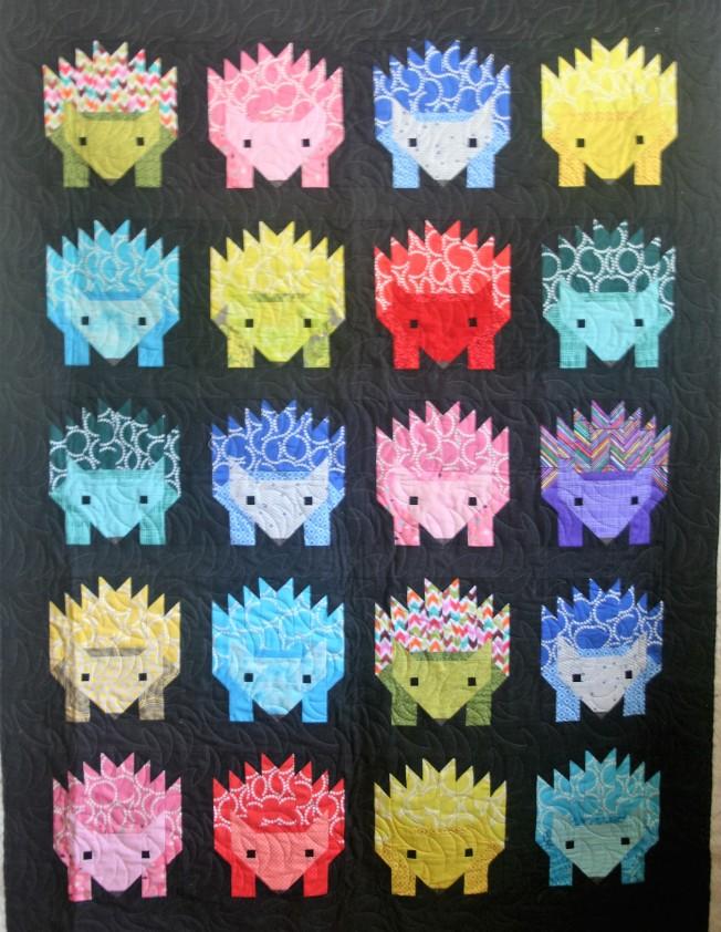 Hedgehog Quilt (front)