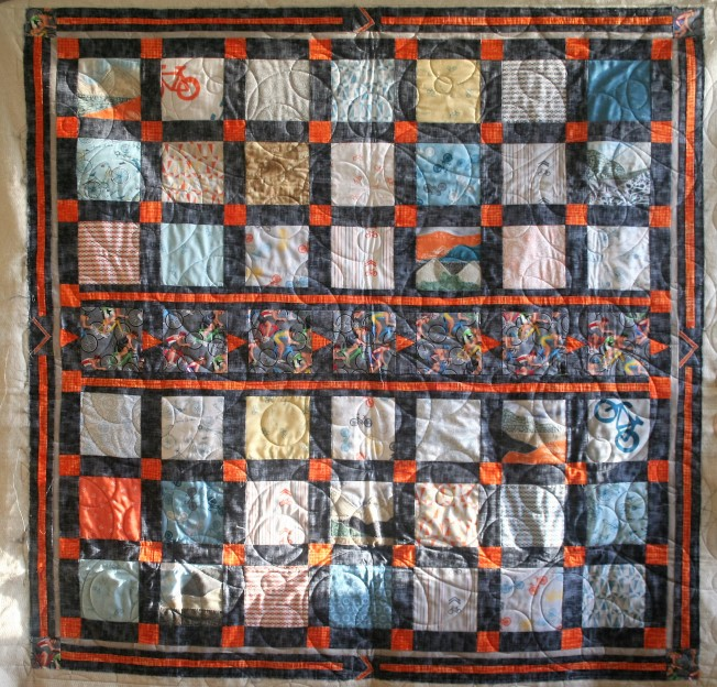 Bicycle Quilt (front)