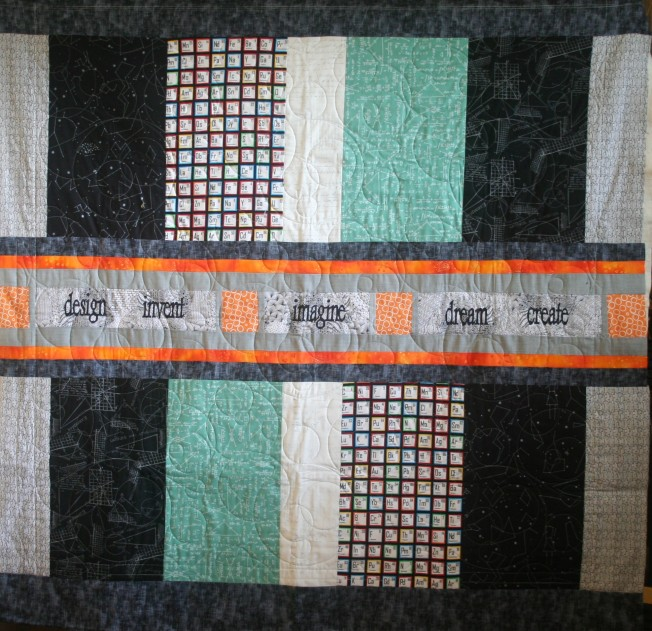 Bicycle Quilt (back)
