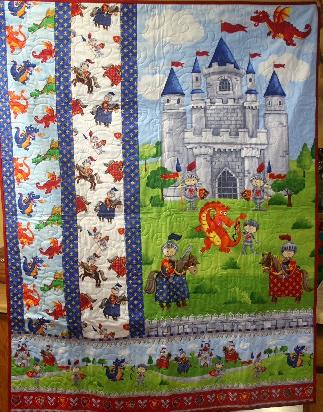 Little Knights and Dragons (front)