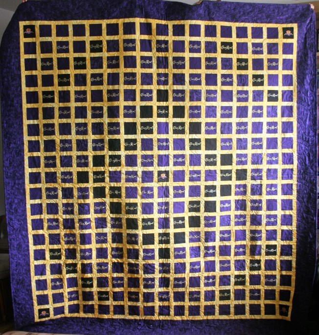 Crown Royal Quilt (front)