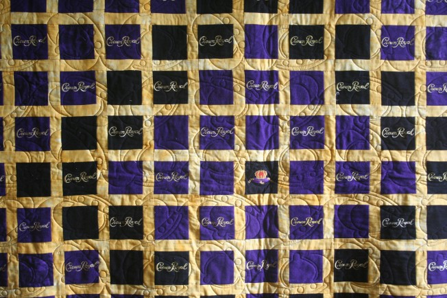 Crown Royal Quilt (close up)
