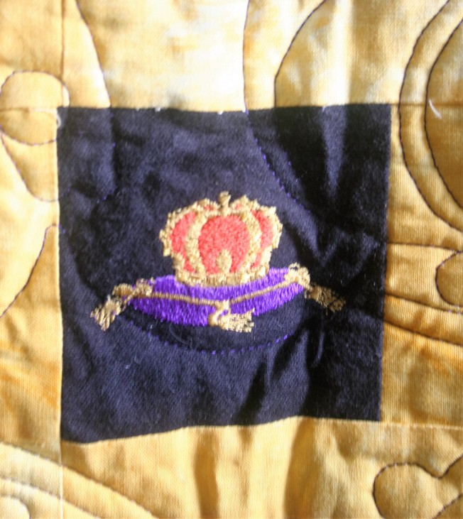 Crown Royal Quilt (center)