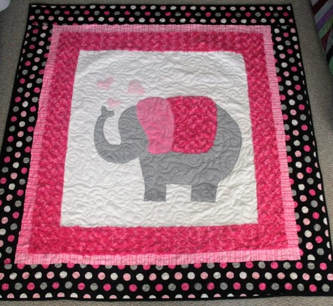 Snuggle Elephant (front)