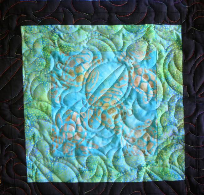 Turtle Quilt (close up)